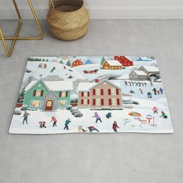 Once Upon a Winter Rug