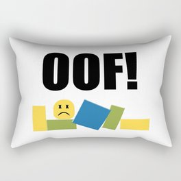 Roblox Oof Rectangular Pillow