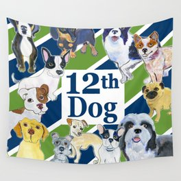 12th dog Wall Tapestry