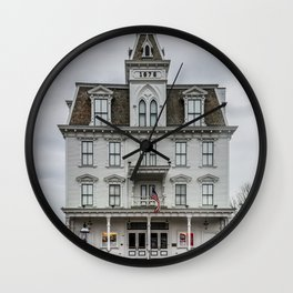Goodspeed Opera House East Haddam Connecticut Theatre Version 2 Wall Clock