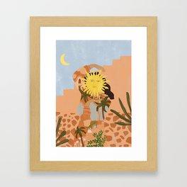 Soul full of sunshine Framed Art Print