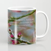 poem Mugs featuring Poem from Rumi by Lucia