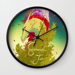 Dan Avidan & Super Guitar Bros - Scarborough Fair Wall Clock