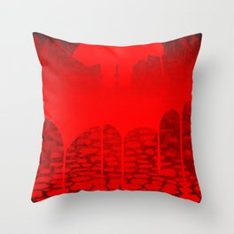 Killer Street Throw Pillow