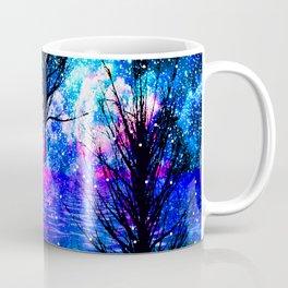 NEBULA TREES FANTASY OCEAN DREAMS Coffee Mug