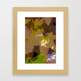 Leaves 9 Framed Art Print