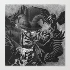 The Murder of Lincoln | Bioshock Infinite Canvas Print