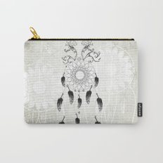 Dreamcatcher in black and white Carry-All Pouch
