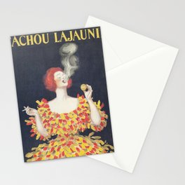 Vintage Poster Cachou Lajaunie Stationery Cards