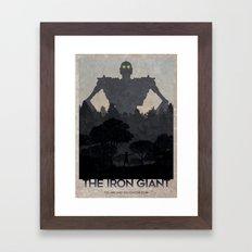 The Iron Giant Framed Art Print