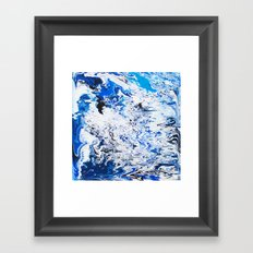 Gravity Painting 26 Framed Art Print