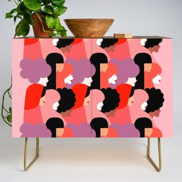 Together Girl Power - Pattern #girlpower Credenza