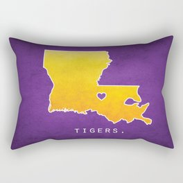 Louisiana State Tigers Rectangular Pillow