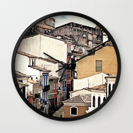 layers {zoom Wall Clock