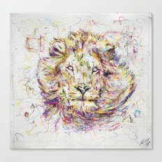 Lion // Tarmuk Canvas Print