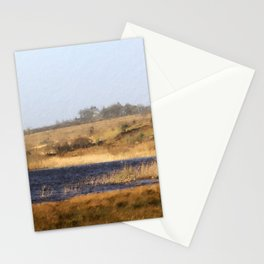 Wintry Lake Landscape in the West of Ireland Stationery Cards