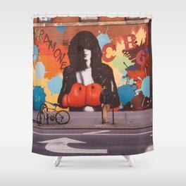East Village Streets II Shower Curtain