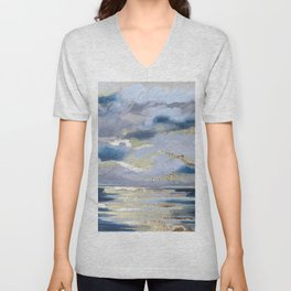 AT SEA Unisex V-Neck