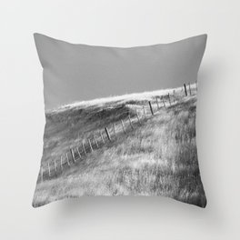 Hawkes Bay Fenceline Throw Pillow