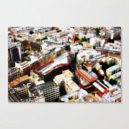 on top XII Canvas Print