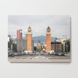 Venetian Towers Metal Print