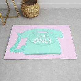 TEXT ONLY Rug