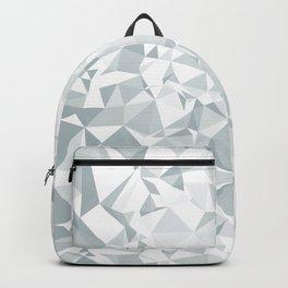Silver Glitter Background Backpack