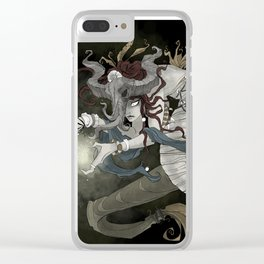 The sea witch Clear iPhone Case