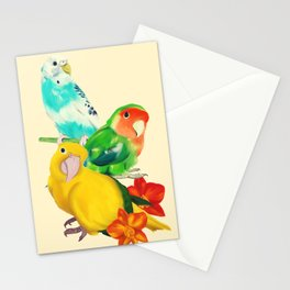 Beautiful Birds Stationery Cards