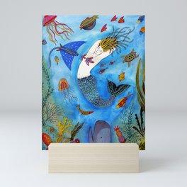 Tuned Mermaid Mini Art Print