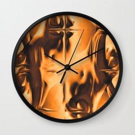 Abstract Breasts Wall Clock