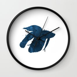 Siamese Figthing Fish Wall Clock