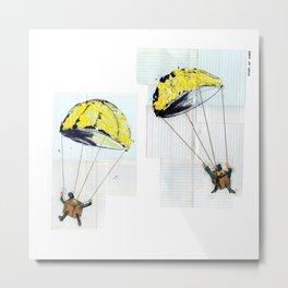 Paratroopers Metal Print