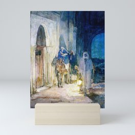 12,000pixel-500dpi - Henry Ossawa Tanner - Flight into Egypt - Digital Remastered Edition Mini Art Print