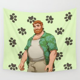 Dream Daddy: Brian Harding Wall Tapestry