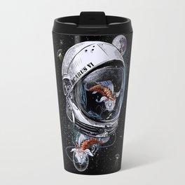 Fish Astronauts Travel Mug