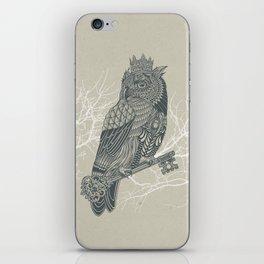 Owl King iPhone Skin