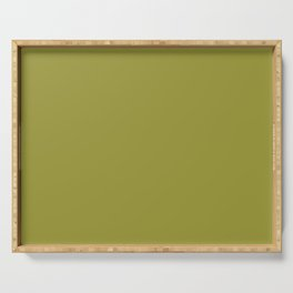 Golden Lime | Pantone Fashion Color Fall : Winter 2017 | New York | Solid Color | Serving Tray