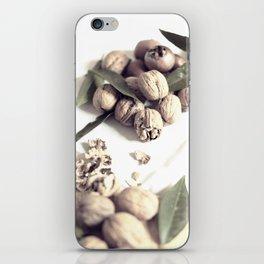 Food still life, macro photography, fine art for kitchen decor, home, interior design iPhone Skin