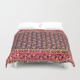 Afshar  Antique South Persian Kerman Carpet Print Duvet Cover