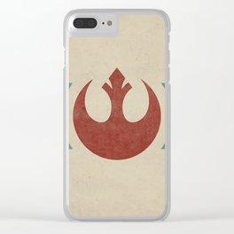 Rebel Alliance Clear iPhone Case