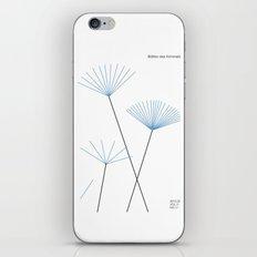Blätter des Himmels iPhone & iPod Skin