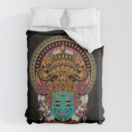 The Mask Dancer Comforters