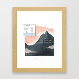 How Far You've Come Framed Art Print
