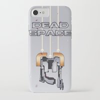 dead space iPhone & iPod Cases featuring Dead Space by Spiritius