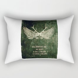 Dream within a Dream Rectangular Pillow