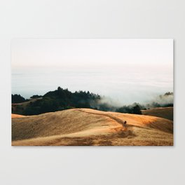Fog Rolls in For a Lucky Photographer - 35mm Film Canvas Print