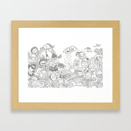 walmazan world Framed Art Print