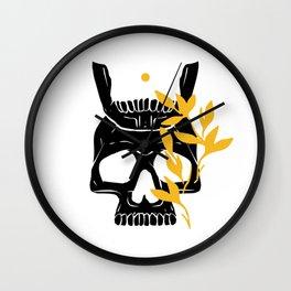 King of No Body - Dark Idea Wall Clock