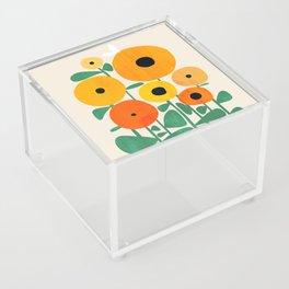Sunflower and Bee Acrylic Box